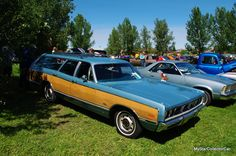 '69 Monaco wagon-rare and very cool. Here's the MSCC story behind the ride: http://mystarcollectorcar.com/may-2016-a-full-sized-1969-dodge-monaco-wagon-takes-center-stage/ #69DodgeMonacostationwagon