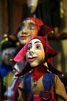 Everyone was technically Iago's puppets. Toy Theatre, Marionette Puppet, Background Drawing, Circus Clown, Puppet Show, Surrealism Painting, Shadow Puppets, Beautiful Girl Image, More Pictures