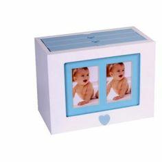 http://relojesplatayacero.com/portafotos-y-albunes/1350-album-de-madera-en-blanco-y-azul.html Caja albun de madera en blanco y azul