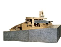 Yuzen Car Museum - Model | Morphopedia | Morphosis Architects