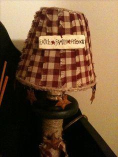 Lamp shade I made