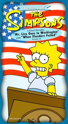 The Best of The Simpsons Vol. 10 -  Mr. Lisa Goes to Washington/ When Flanders Failed [VHS] @ niftywarehouse.com #NiftyWarehouse #TV #Shows #TheSimpsons #Simpsons