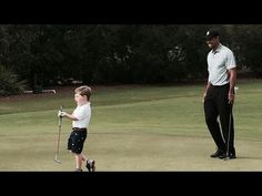 This Video Of Tiger Woods Playing Golf With A Disabled Child Is The Cutest Thing You'll See Today