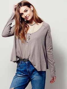 Free People We The Free Cecilia Tee, $68.00