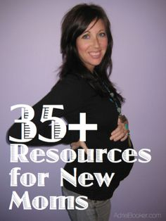 Tons of resources for new moms and moms-to-be about pregnancy, birth, parenting, and motherhood.