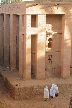Bet Medhane Alem - (Church) - Lalibela, Ethiopia