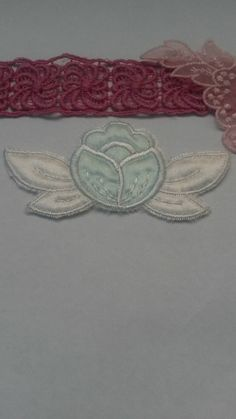 Check out this item in my Etsy shop 3 https://www.etsy.com/listing/216754541/4-wide-white-and-green-flower-applique