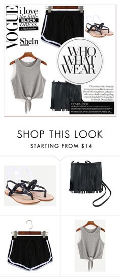 """""""Shein contest"""" by newoutfit ❤ liked on Polyvore featuring Essie and Who What Wear"""