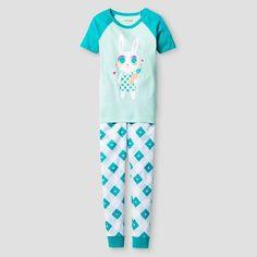 Girls Pajama Set Cat & Jack™ - Aqua