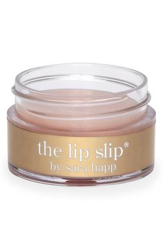 Put it on before bedtime and wake up to a plump, baby-smooth pout | Sara Happ Lip balm