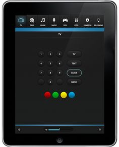 Touchpanelgrafik budgetpaket Cobra Design.