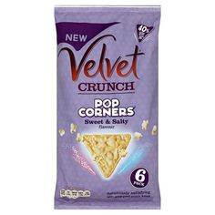 Velvet Crunch Popcorners Sweet And Salty 6X20g