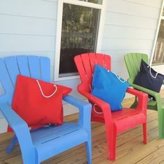 Outdoor Chairs, Outdoor Furniture, Outdoor Decor, Gifts For Sailors, Home Decor, Decoration Home, Room Decor, Garden Chairs, Home Interior Design