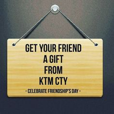 Happy Friendships Day! Buy your friend a gift! #KTMCTY #Shopping #Kathmandu #Nepal