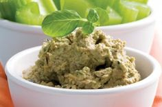 Raw Nut Dip - protein-packed vegan dip for your veggies for Phase 3 of The Fast Metabolism Diet.