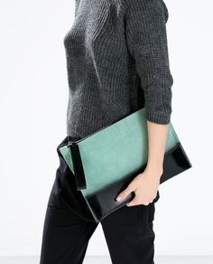 Image 4 of Ombre clutch from Zara