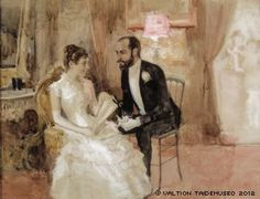"Albert Edelfelt: ""The dance scene"" 1884 – art – Malerei Vincent Van Gogh, Prinz Eugen, Ballroom Dancing, Couple Art, Large Art, Antique Art, Etiquette, Art For Sale, The Twenties"