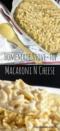 Stove Top Macaroni and Cheese | Cheesy | Pasta | Simple Recipes