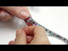 Atelier Création Bijoux 6 : Bracelet Wrap style Chan Luu - YouTube