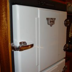 Craig Dorsey  Add a 1930's GE refrigerator badge to finish the look.