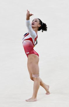 A male apex is evident in MANy of these so-called woMEN gymnasts. Team Usa Gymnastics, Gymnastics Facts, Gymnastics Images, Gymnastics Posters, Artistic Gymnastics, Olympic Gymnastics, Gymnastics Girls, Lauren Hernandez, Alta Performance