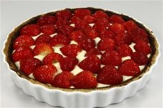 Jordbærtærte som hos bageren 4