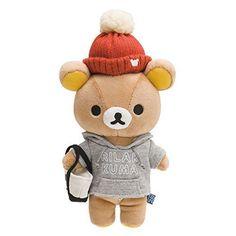 New! Rilakkuma Plush Doll Stuffed Casual San-X Japan F/S #SanX