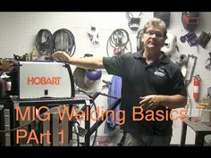 This Video on Mig Welding Basics shows how to set up a mig welder along with arc shots of what incorrect settings look like Mig Welding Tips, Co2 Welding, Welding Shop, Welding Process, Welding Table, Welding Art, Welding Consumables, Flux Core Welding, Welding For Beginners