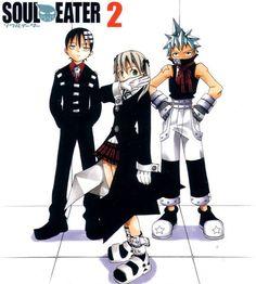 Old Anime, Manga Anime, Manga Art, Anime Art, Soul And Maka, Soul Art, Manga Covers, Matching Pfp, Black Star