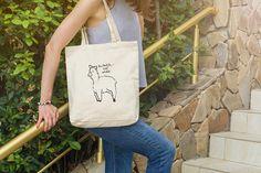 612a1d412630 Alpaca Wine Tote Bag BEST SELLER Natural Cotton Sturdy  winelover  alpaca   tote Mug