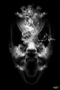 Dark art: Freaky Smoke
