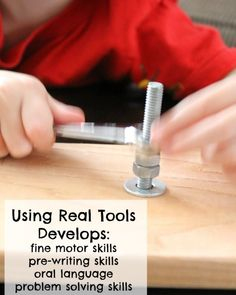 Awesome way to begin woodworking with kids - and why you should!  Check out www.NYHomeschool.com as well.