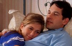 """Jennifer Aniston e Paul Rudd em A RAZÃO DO MEU AFETO (The Object of My Affection).1-""""Não devemos ligar se a pessoa a quem mais amamos nos retribui com um pouco menos de carinho do que gostaríamos."""""""
