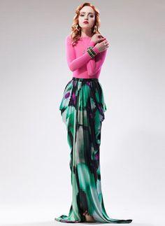 now imagine this AMAZING skirt plus sized Draped Skirt 8b51ffa7831