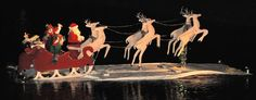 Christmas floats in Deer Creek, Leland, MS...we would go every year to see!  Belinda