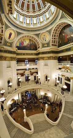 If you haven't been, it's worth the trip to visit - Pennsylvania Sate House, Harrisburg, PA