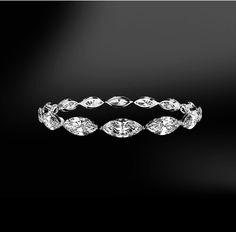 New Wedding Rings Big Diamond Gold Ideas Big Wedding Rings, Diamond Wedding Rings, Wedding Ring Bands, Diamond Rings, Wedding Jewelry, Gold Wedding, Eternity Ring Diamond, Eternity Bands, Engagement Solitaire