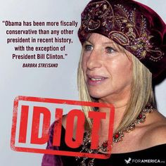 IS SHE ACTUALLY THIS IGNORANT??   She will no longer be on my list of people I admire.