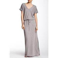 Lanston V-Neck Maxi Dress