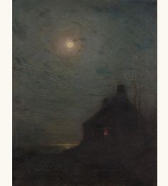 'The Auriole' - L. Birge Harrison (1854–1929)