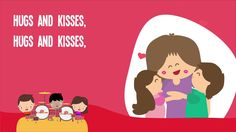 Hugs and Kisses song for Mother's Day! Great for Pre-K!  #mothersday #kidsmusic #prek
