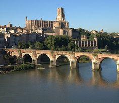 Vieux pont d'Albi - Tarn - France - XIème siècle
