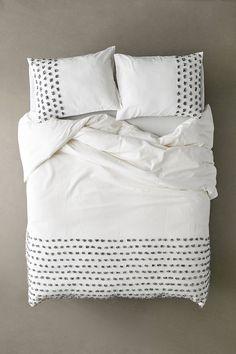 Tufted Dot Duvet Cover | Urban Outfitters 100 Cotton Duvet Covers, Full Duvet Cover, Duvet Cover Sets, Quilt Cover, Duvet Insert, King Size Comforters, Queen Bedding Sets, Duvet Sets, Boho Bedding