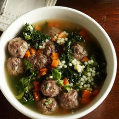 Italian Wedding Soup in a Crock Pot!!