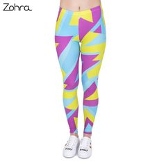 Maternity Fashion - cool maternity leggings : Rankei Women Leggings Neon Fitness Printing Fashion Legging Women Casual High Waist >>> You can discover more information by seeing the photo web link. (This is an affiliate link). Crop Top And Leggings, Girls Leggings, Printed Leggings, Women's Leggings, Leggings Store, Cheap Leggings, Maternity Leggings, Capri Leggings, Capri Trousers
