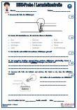 #Schulproben #Lernzielkontrollen 28 Fragen zu dem Thema #Strom 2 x Lernzielkontrollen Ausführliche Lösungen 14 Seiten Das aktuelle Übungsmaterial enthält genau die Anforderungen, die in der Schule in der Schulprobe/Lernzielkontrolle Strom abgefragt werden. Die Arbeitsblätter und Übungen eignen sich hervorragend zum Einsatz für den #HSU - #Heimat- und #Sachkundeunterricht in der #Grundschule.