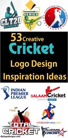 53+ Creative Cricket Logo Design Inspiration Ideas => see full collection.