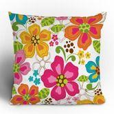 Khristian A Howell Kaui Blooms Throw Pillow