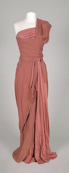 Evening dress, Mme. Eta Hentz, 1946, American.