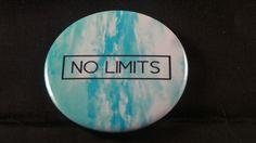 No Limits Button Badge - RM3.50